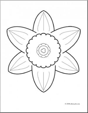 Daffodil Clip Art Daffodil clip art