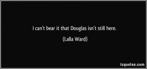More Lalla Ward Quotes
