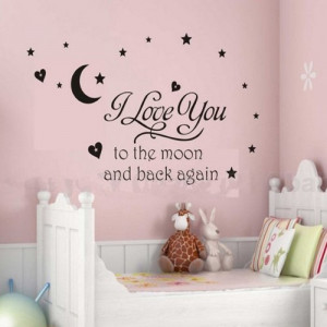 ... Room Removable Quote Vinyl Wall Decals Stickers Ay695 from Bonamart