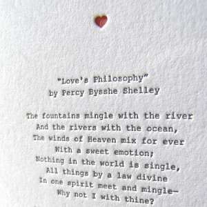 Percy Bysshe Shelley and the other verse