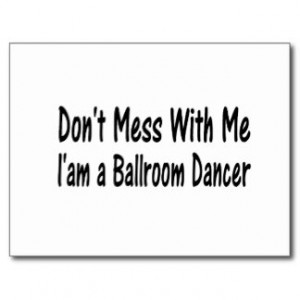 Funny Ballroom Dancing Cards & More