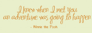 Winnie the Pooh Quotes About Friendship