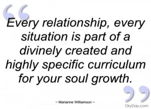 every relationship marianne williamson