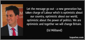 More Ed Miliband Quotes