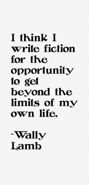 Wally Lamb Quotes & Sayings
