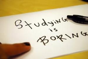 study can be so boring especially when it come to boring class boring ...