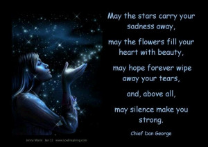 Canadian actor and a Native Indian Chief. Quote. Chief Dan George.