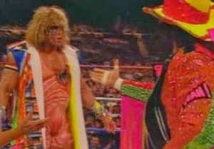 WWF / WWE - Summerslam 1992: Ultimate Warrior challenged Macho Man ...