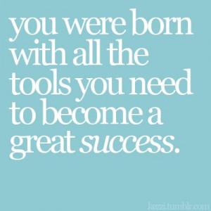 tools success