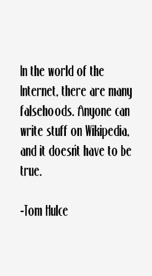 most famous Tom Hulce quotes and sayings. He is a 61 year old ...