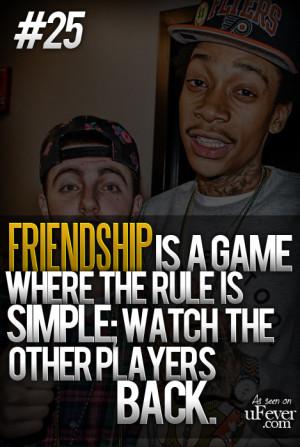 Wiz Khalifa Quotes About Friendship #wiz khalifa #friends