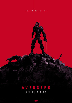 """No Strings On Me"""": Brilliant 'Avengers: Age Of Ultron' Poster By ..."""
