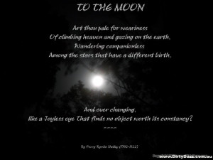 To The Moon – Poetry – Percy Bysshe Shelley (1792-1822)