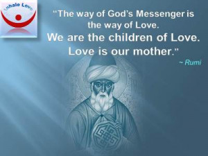 Rumi on Love quotes at Inhale Love, Sufi, Islam, Allah, Muslim love ...
