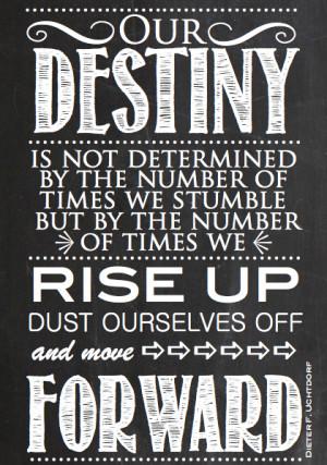 Move Forward Quote