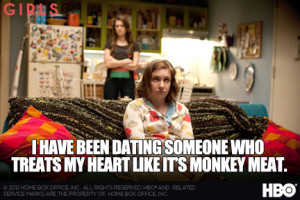 Favorite Quotes from HBO's 'GIRLS' « Read Less