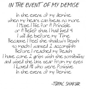 From Poetry to Fame: Tupac Shakur
