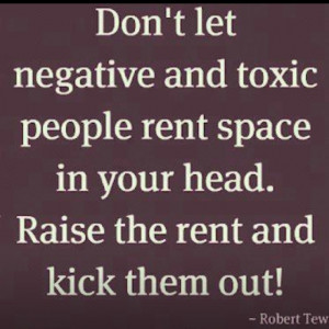 love this! Eliminate negative