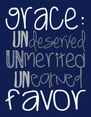 grace blog Quotes About Gods Grace