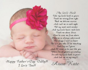 Unborn Baby Girl Poems Gift from baby