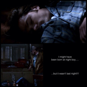 Supernatural | Bobby and Sam quotes