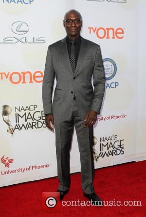 Lance Reddick THE 46th NAACP Image Awards at Pasadena Civic