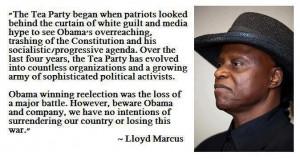 Lloyd Marcus quote