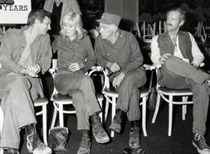 Alan Alda, Mike Farrell, Harry Morgan and Loretta Swit