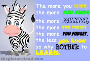 Funny-Giraffe-Picture-With-Sayings-About-The-More-You-Know