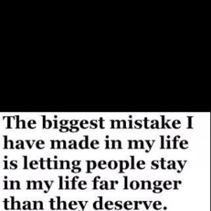 Biggest Mistake