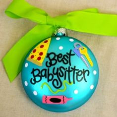 ... gift for your # babysitter or # nanny more babysitter gifts holidays