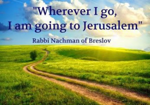 ... am going to Jerusalem