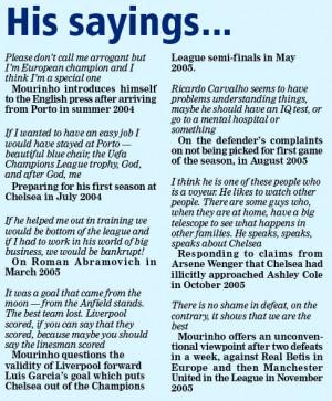 Jose Mourinho quits Chelsea