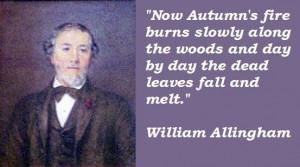 William allingham quotes 2