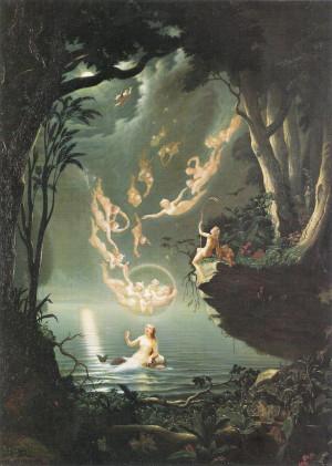 Douglas Harvey: Oberon and the Mermaid.: Hair Beautiful ...