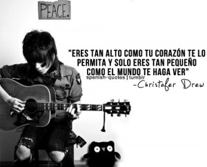 Christopher Drew Quotes Tumblr Christofer drew quote *-* by
