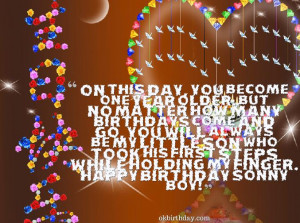 on this day you become one year older but no matter how many birthdays ...