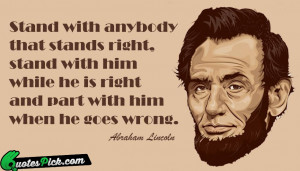 Stand With Anybody . . .