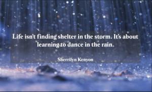 Rain Storm Quotes