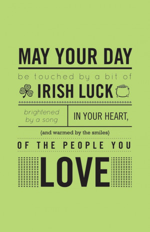 Irish blessing by SeedFactory