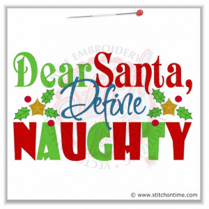 naughty christmas sayings