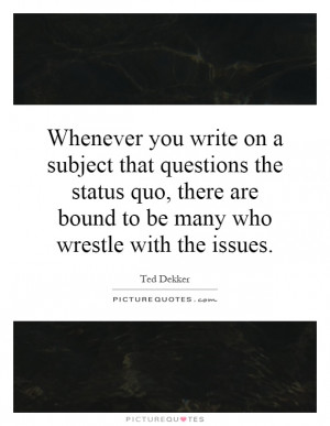 Subject Quotes