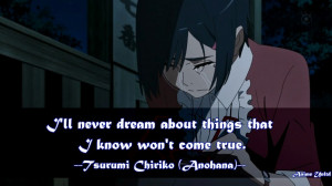 Anime Quotes About Dreams Anime Quotes About Dreams That