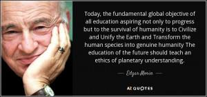 Edgar Morin Quotes