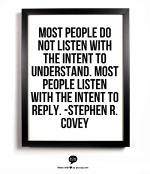 Stephen R. Covey quote in Quotes & other things