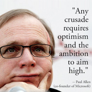 paul allen | Motivate: Inspiring quote by Paul Allen | Entrepreneur