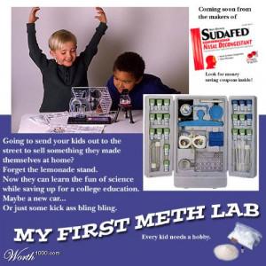My first meth lab