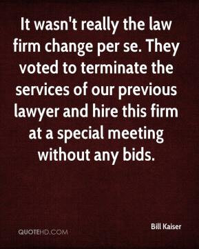 Law firm Quotes
