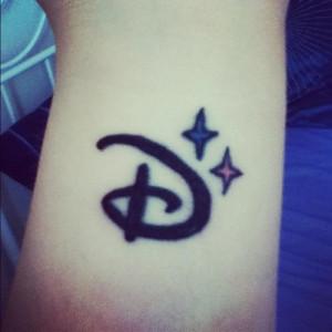 My Disney logo tattoo