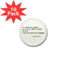 Breakfast Club Quote' Mini Button (10 pack) for
